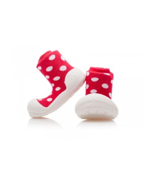 Attipas Polka Dot Red
